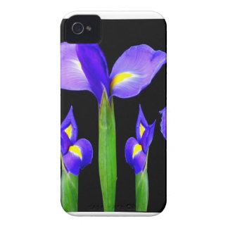 紫色の花の花花束のエレガントでロマンチックなギフト Case-Mate iPhone 4 ケース