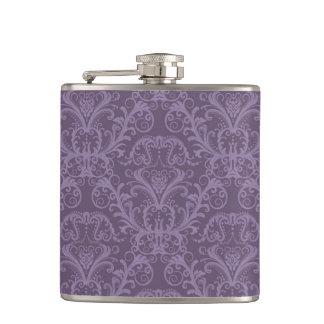 紫色の花模様の壁紙2 フラスク