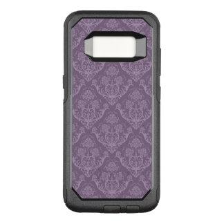 紫色の花模様の壁紙 オッターボックスコミューターSamsung GALAXY S8 ケース