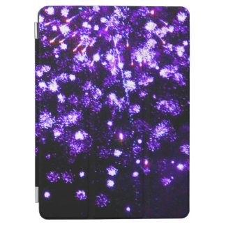 紫色の花火の破烈 iPad AIR カバー