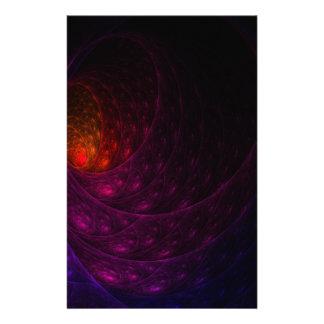 紫色の花火 便箋