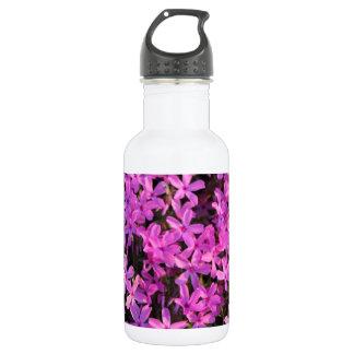 紫色の花 ウォーターボトル