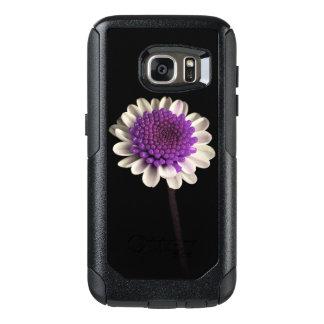 紫色の花 オッターボックスSamsung GALAXY S7ケース