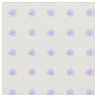 紫色の花 ファブリック