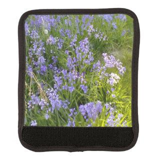 紫色の花 ラゲッジ ハンドルラップ
