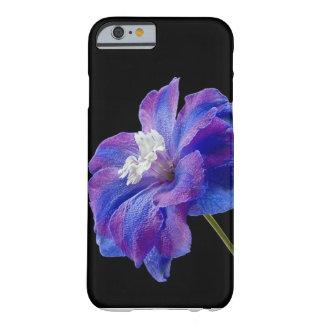紫色の花 BARELY THERE iPhone 6 ケース