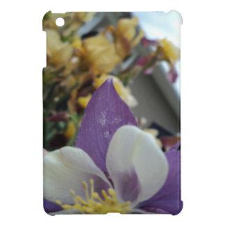 紫色の花 iPad MINIケース