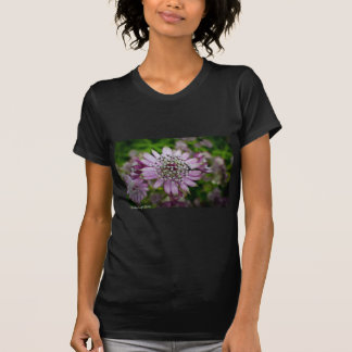 紫色の花 Tシャツ