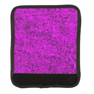 紫色の草 ラゲッジ ハンドルラップ