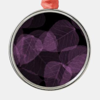 紫色の葉X-Ray.png メタルオーナメント
