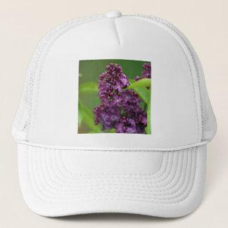 紫色の薄紫の帽子 キャップ