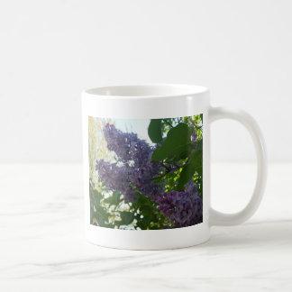 紫色の薄紫9のマグ コーヒーマグカップ