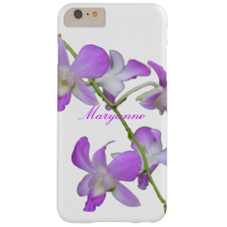 紫色の蘭の名前入りな名前 BARELY THERE iPhone 6 PLUS ケース