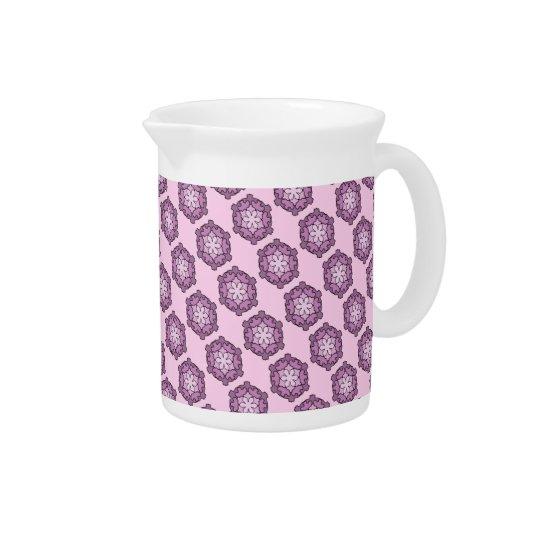 紫色の蜜蜂の巣 ピッチャー