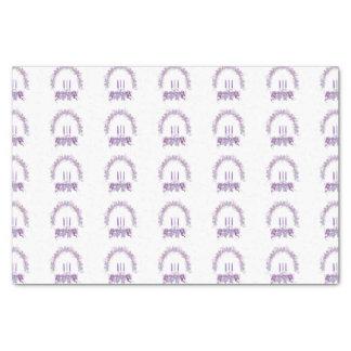 紫色の蝋燭 薄葉紙