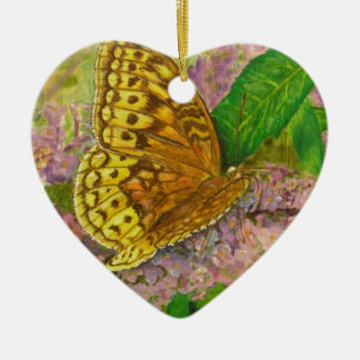 紫色の蝶薮のBuddleiaデイヴィッドの蝶 セラミックオーナメント