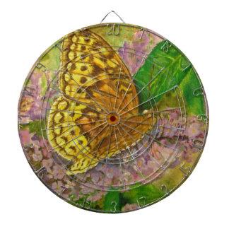 紫色の蝶薮のBuddleiaデイヴィッドの蝶 ダーツボード