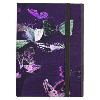 紫色の蝶 iPad AIRケース