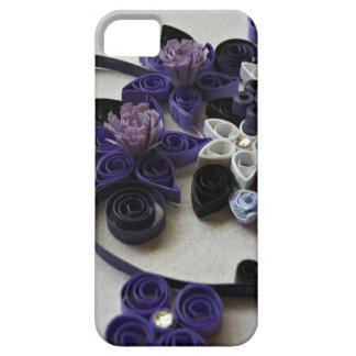 紫色の融合 iPhone SE/5/5s ケース
