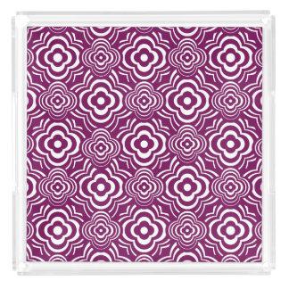 紫色の行商人 アクリルトレー