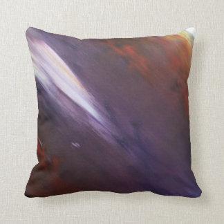 紫色の表現主義者のクッション クッション