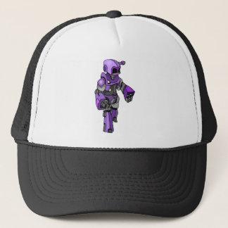 紫色の装甲 キャップ
