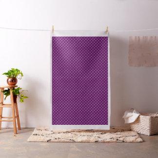 紫色の足はパターン綿織物を印刷します ファブリック