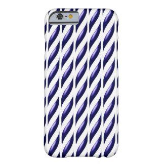 紫色の踏面のデザイン BARELY THERE iPhone 6 ケース