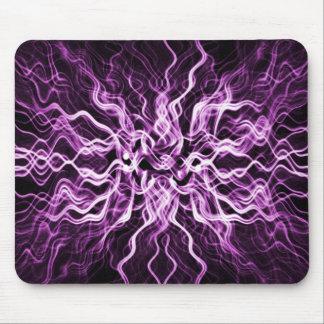 紫色の軽い爆発 マウスパッド