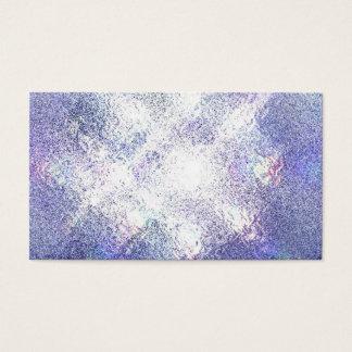 紫色の軽い霊魂のヨガの霊気の名刺 名刺