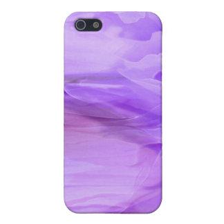 紫色の軽くて柔らかいiPhoneの箱 iPhone 5 カバー
