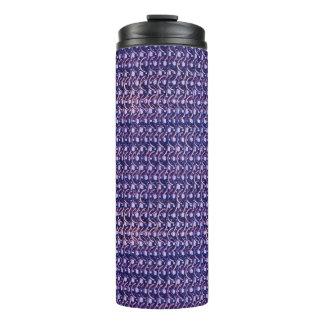 紫色の金属のチェーン・メールの金属中世スタイル タンブラー