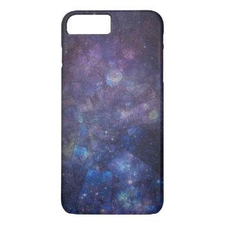 紫色の銀河系の曹灰長石のiPhone 7のプラスの場合 iPhone 8 Plus/7 Plusケース