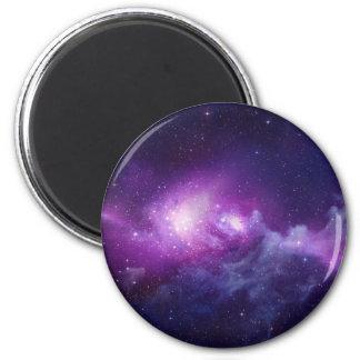 紫色の銀河系 マグネット