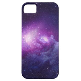 紫色の銀河系 iPhone SE/5/5s ケース