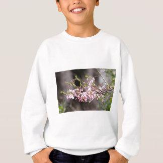 紫色の開花 スウェットシャツ