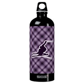 紫色の雪のスキー ウォーターボトル