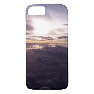 紫色の雲の電話箱 iPhone 8/7ケース