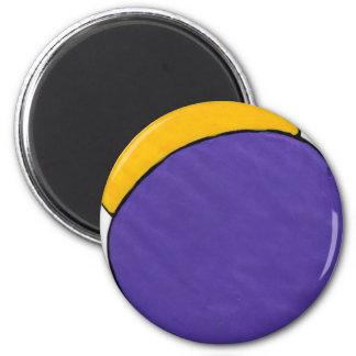 紫色の電球 マグネット