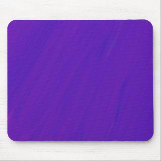 紫色の青いペンキの汚れのブレンドのシンプルの抽象芸術 マウスパッド