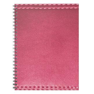 紫色の革質のテンプレートは文字のイメージを加えます ノートブック