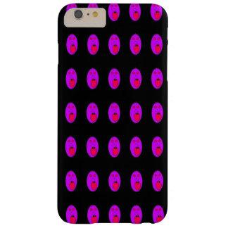 紫色の顔のphonecase barely there iPhone 6 plus ケース