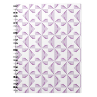 紫色の風車 ノートブック