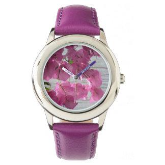 紫色の魔法 腕時計