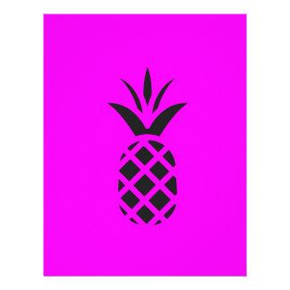紫色の黒いマツりんご レターヘッド