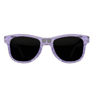 紫色の黒の抽象芸術パターン サングラス