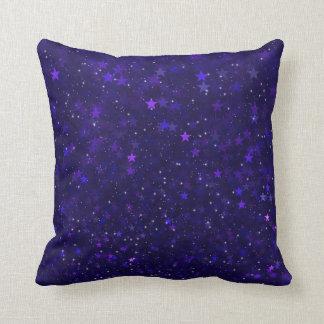 紫色の《写真》ぼけ味の星 クッション