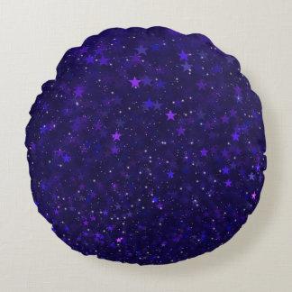 紫色の《写真》ぼけ味の星 ラウンドクッション
