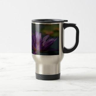 紫色の《植物》スイレン トラベルマグ