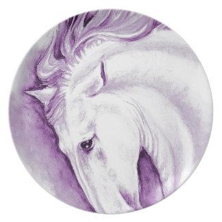 紫色のAndalusian プレート